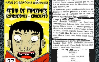 Festival de Fanzines Leeme