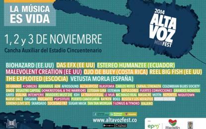 Programa Mixtura en el Altavoz Fest de Medellín