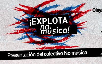 Presentación del Colectivo No Música