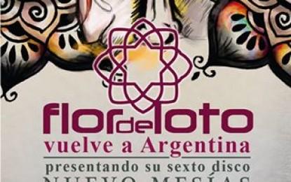 Flor de Loto vuelve a Argentina