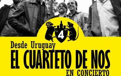 La banda Cuarteto de Nos en Lima