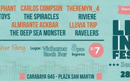 Lima Indie Festival 3ra Edición