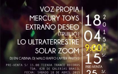 Festival Post Punk Perú 2015